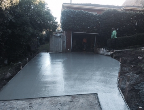 Narrabeen- Driveway Extension – Plain Concrete