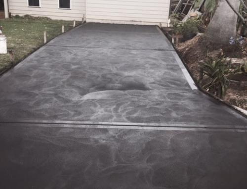 Mona Vale – Driveway – Coloured Concrete – 2