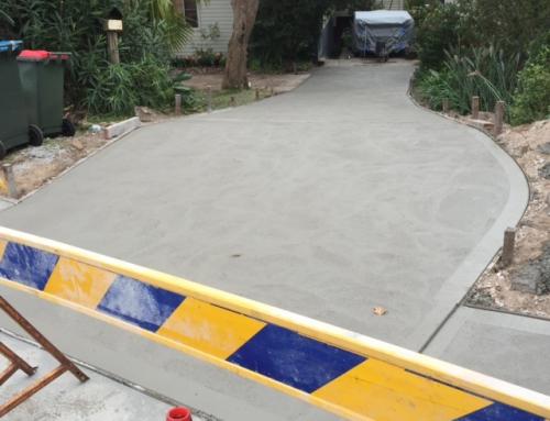 Newport – Driveway – Plain Concrete