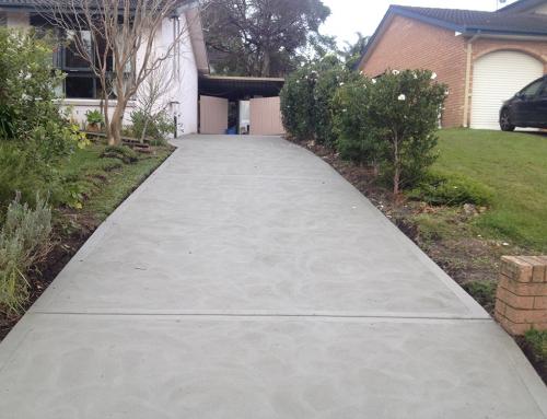 Terrey Hills – Driveway – Plain Concrete